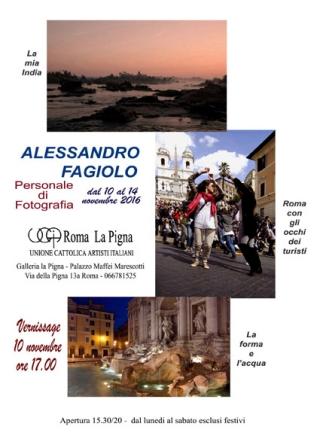 Mostra Fotografica Alessandro Fagiolo Galleria Pigna Roma
